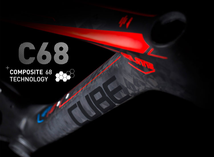 CUBE独家的Composite 68碳纤技术
