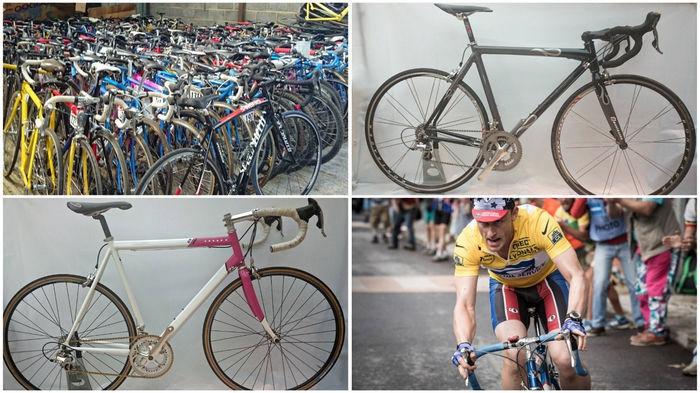 兰斯・阿姆斯特朗电影版自行车出售
