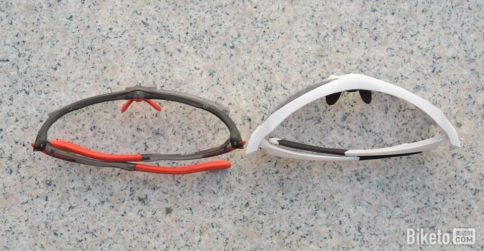 Pohinix SUPERV PX008-05全天候骑行眼镜 对比常规骑行眼镜