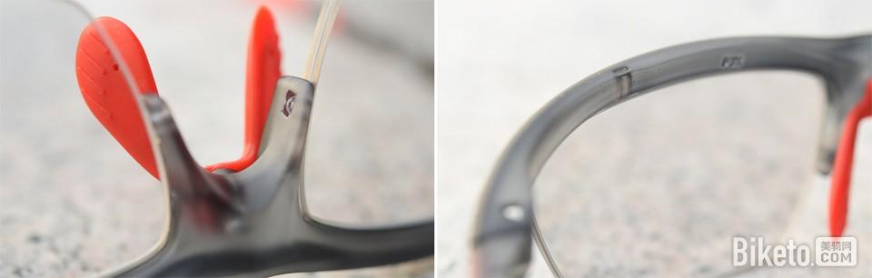 pohinix superV 骑行眼镜细节
