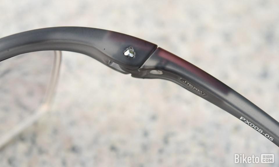 Pohinix SUPERV PX008-05全天候骑行眼镜 铰链结构