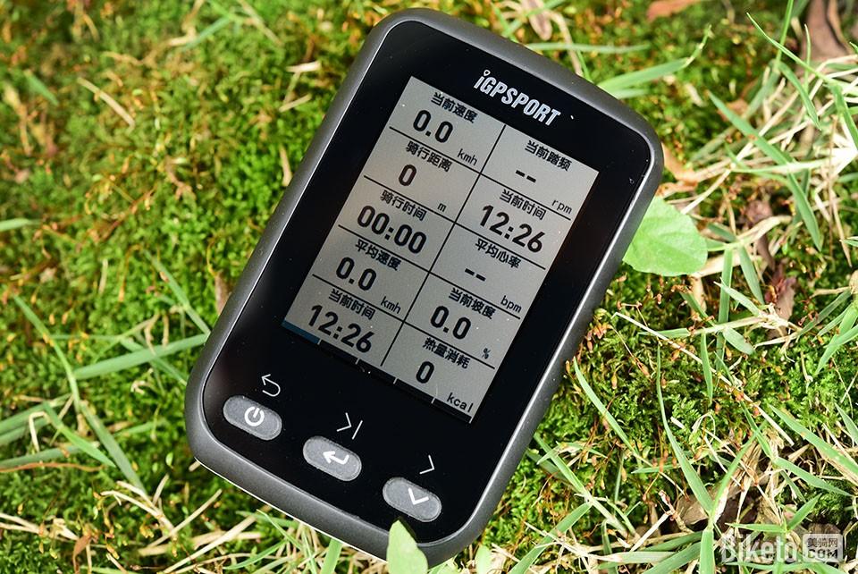 iGS60 GPS码表 黑色版本