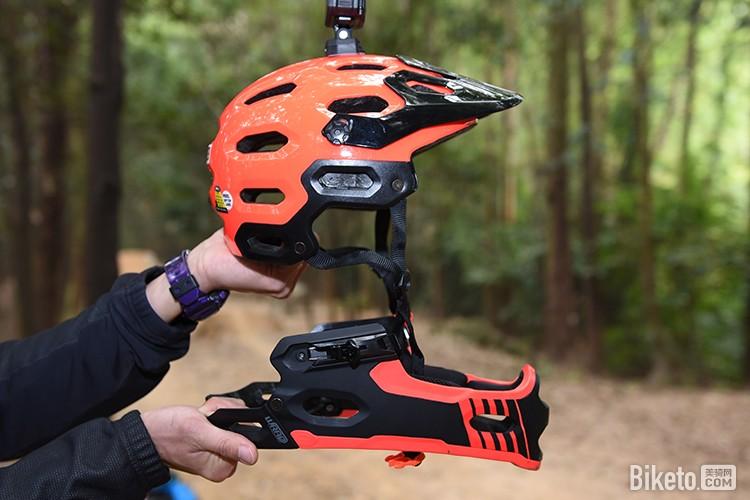 自购评测 BELL Super 2R可拆卸式头盔长期测试