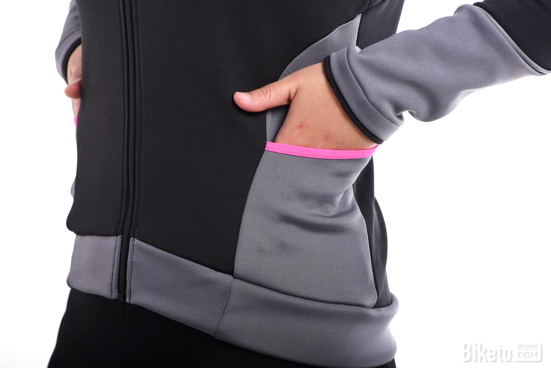 符合亚洲体型的剪裁 思帕客江雪女款抓绒长袖外套评测