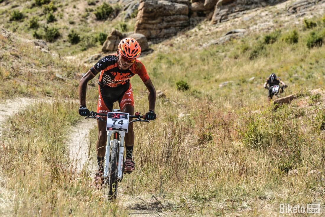 蒙古山地挑战赛 张诺