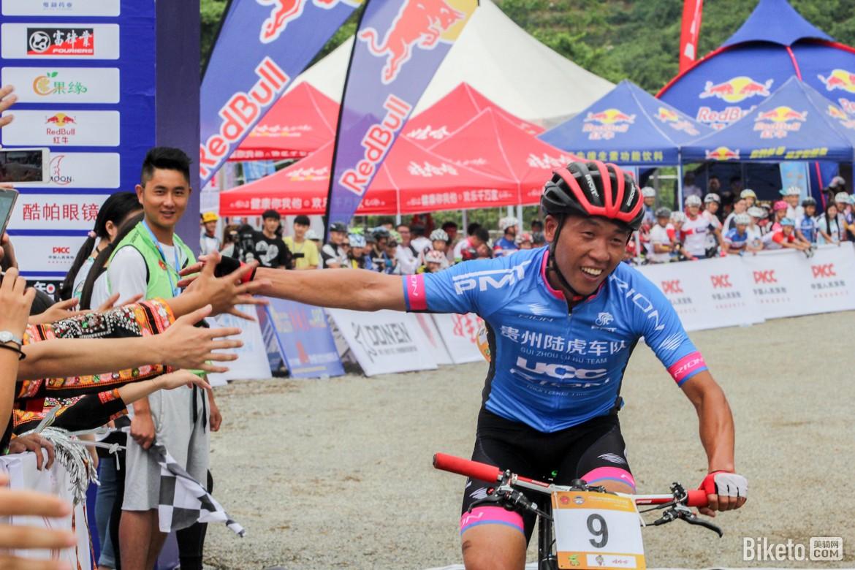 陆正虎,中国山地自行车公开赛