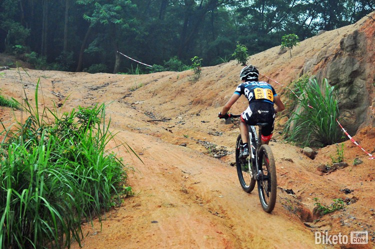 GCR山地联赛第一站龙洞公园-青少年组冠军马伟南