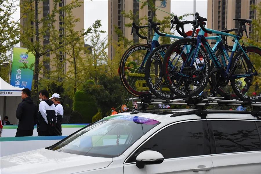 第十四届全国运动会公路自行车项目胜利闭幕