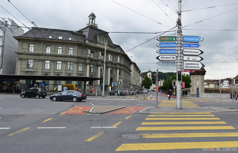 瑞士 自行车道
