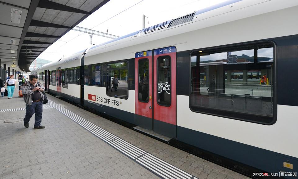 瑞士铁路火车