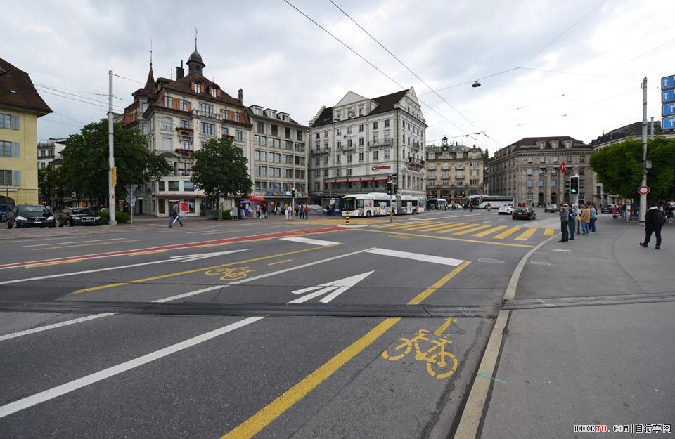 瑞士三车道自行车道