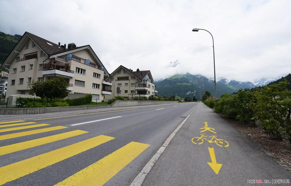 阿尔卑斯山上自行车道
