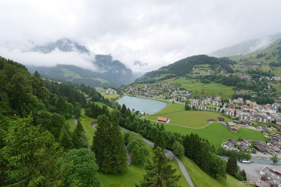 阿尔卑斯山风光