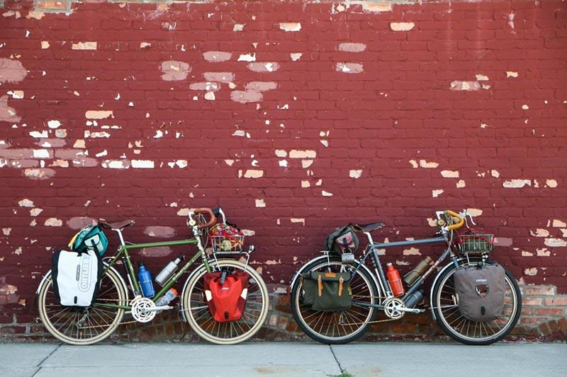 单车旅行,旅行装备,自行车驮包
