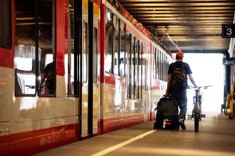 坐火车回家
