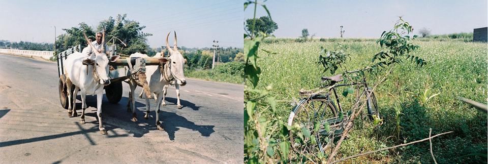 骑行印度乡村路