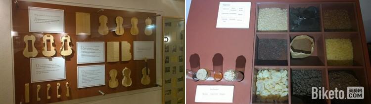 小提琴部件与涂装材料