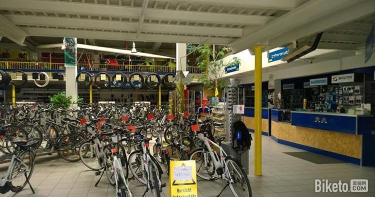 自行车卖场