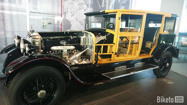 第一款使用6缸发动机和第一个采用四轮刹车的车型Audi TypM