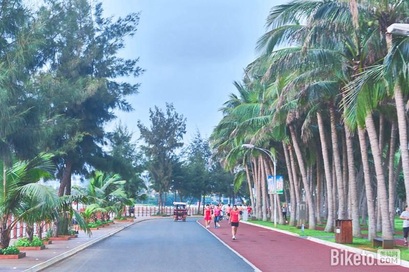 骑行游记,海南岛骑行,海口游记,单车旅行