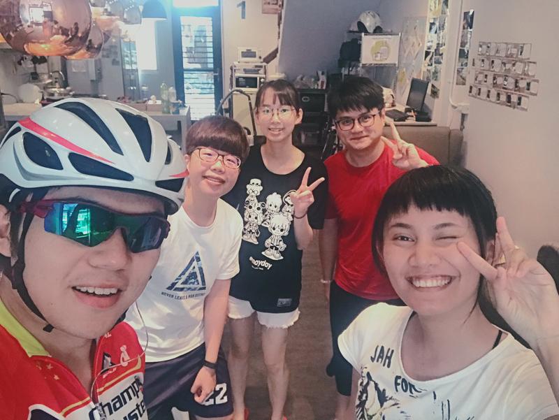 台湾,骑行