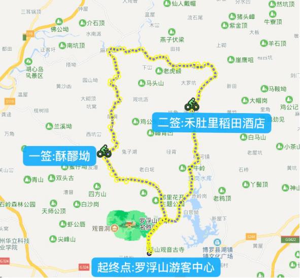 惠州罗浮山站攻略