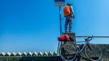日本骑行之旅Day5:为泡澡疯狂,在厕所前扎营的一晚