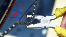 野生技师:在家轻松拆装链条魔术扣