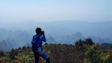 桂林盘古岭骑游记:满山盛开的映山红