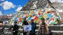 浪骑滇藏(9)翻越东达山上的友谊