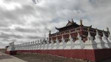 环青海湖骑行之旅(3)唯美的环湖西路
