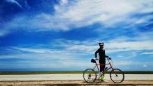 父女俩的青海环湖骑行(3)不被雨淋的秘诀